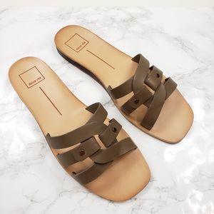 Dolce Vita Cait Slide Sandal Olive 10